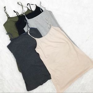 Ambiance tank tops lot of 5 size M